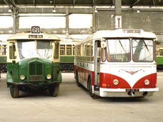 1948 Vétra-Berliet VBRh n° 272 ex-Paris Limoges F
