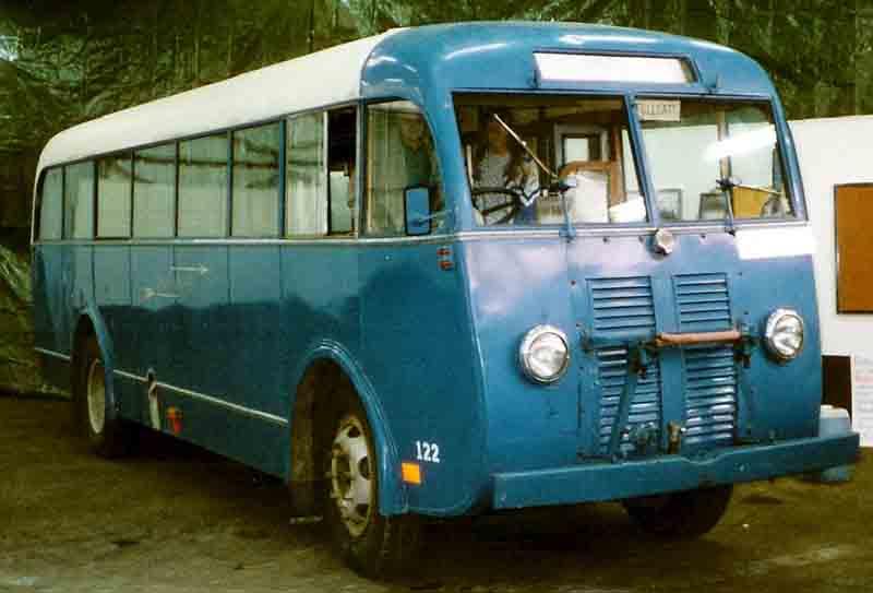 1948 Volvo B512 Bus