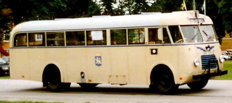 1948 Volvo B513 Bus