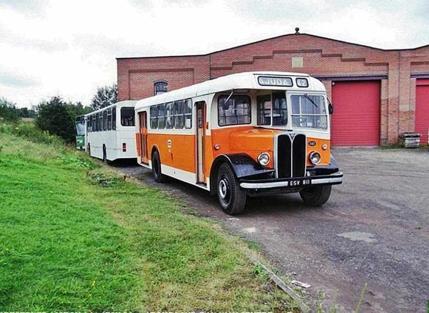 1948 Weymann B20D bodied AEC Regal 111
