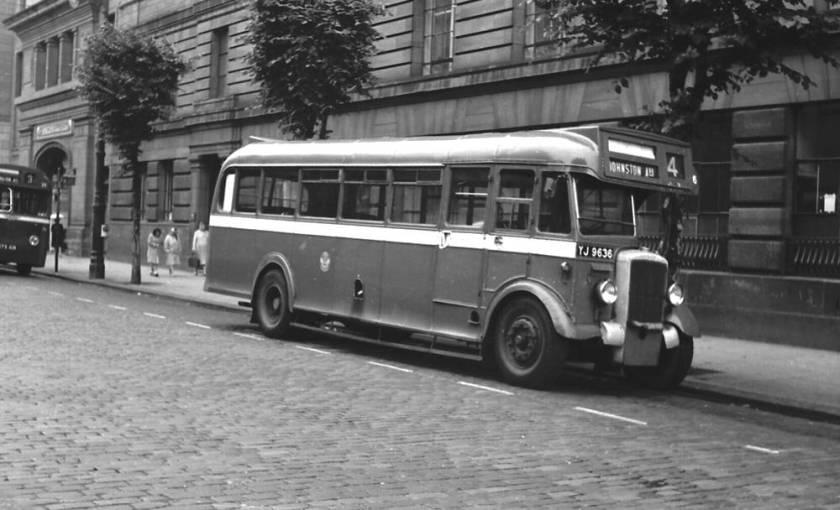 1948 Weymann B35R bodied Daimler CVD6SD