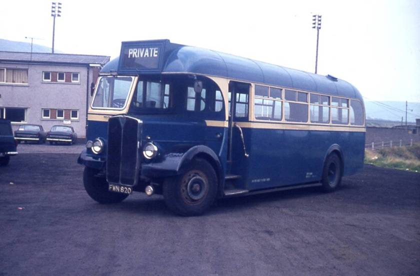 1949 AEC Regal III with Willowbrook B34F body