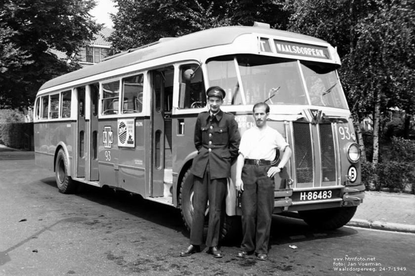 1949 AEC Regal Mk III - Verheul HTM 93 1949 Waalsdorperweg