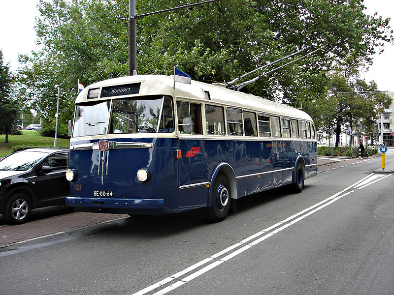 1949 BUT-trolleybus Verheul GVA, GVM, Oostnet, Connexxion 101