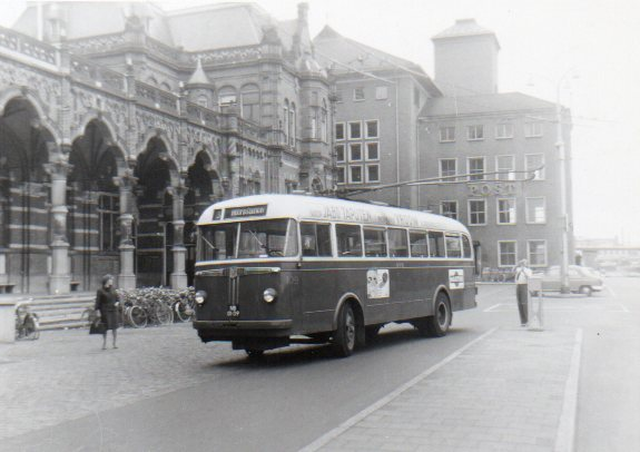 1949 BUT Verheul Trolley 109 Groningen 1965