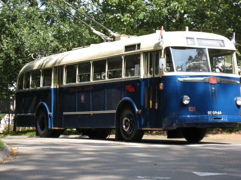 1949 BUT-Verheulmuseumtrolleybus 101, GVA, Arnhem