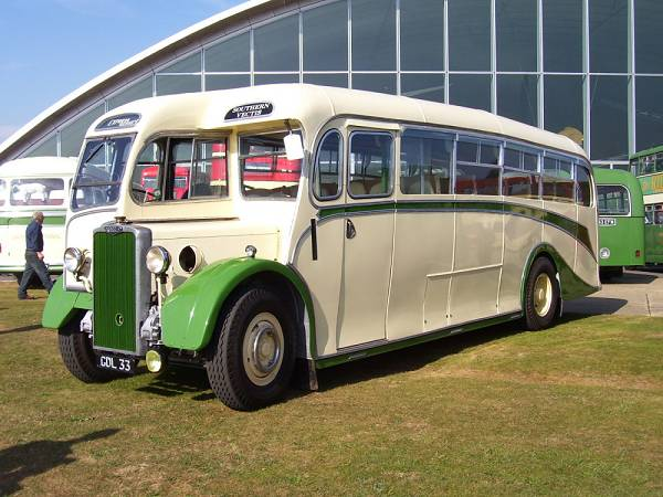 1949 Crossley SD42-7 with Whitson C33F body