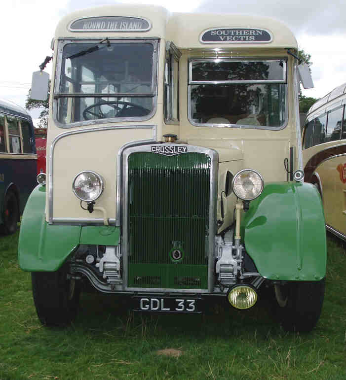 1949 Crossley SD42 Whitson bodied GDL33 front