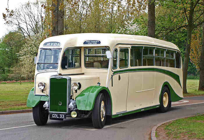 1949 Crossley SD42 Whitson bodied GDL33
