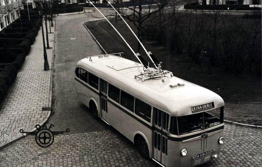 1949 DAF met Verheul opbouw Trolleybus Arnhem
