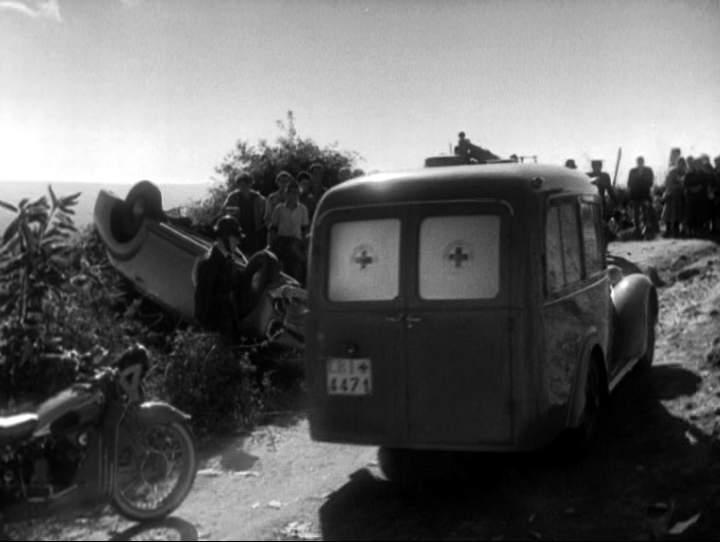 1949 Fiat 1100 ELR Viberti Ambulancia
