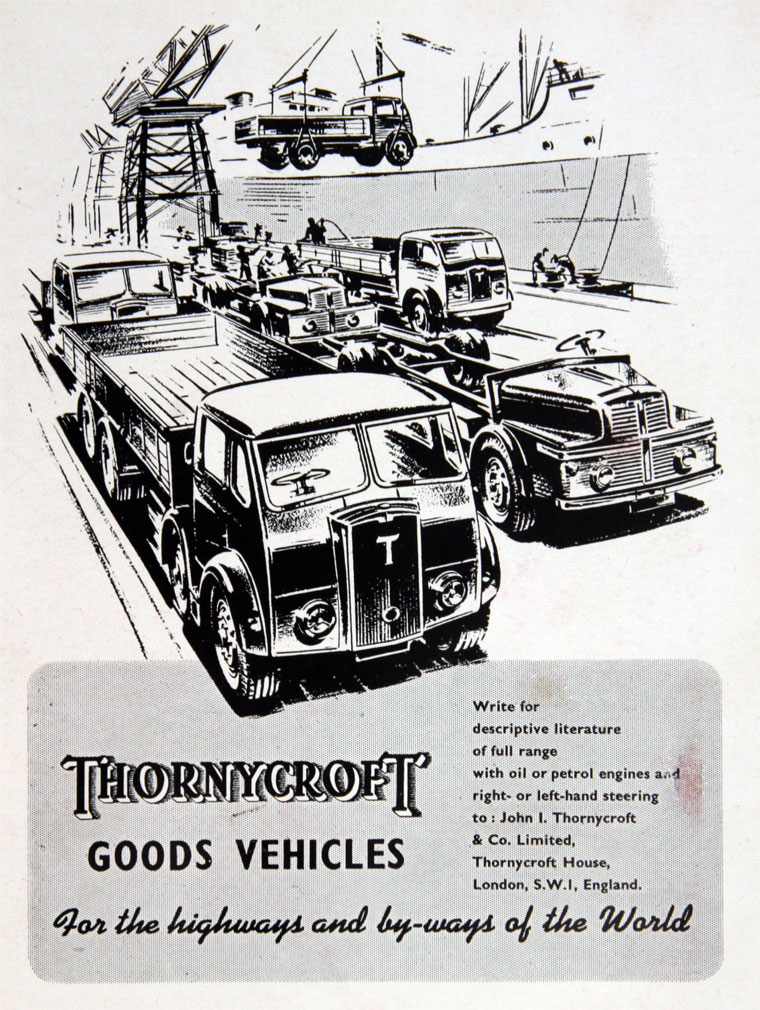 1949 Thornycroft
