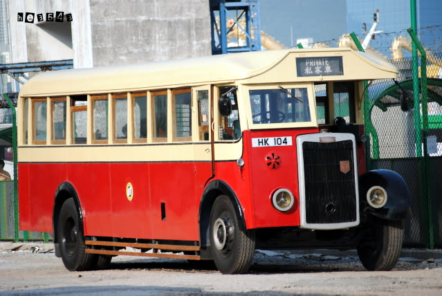 1949 Tilling Stevens K5LA7 Since 1949, it appear in Hong Kong