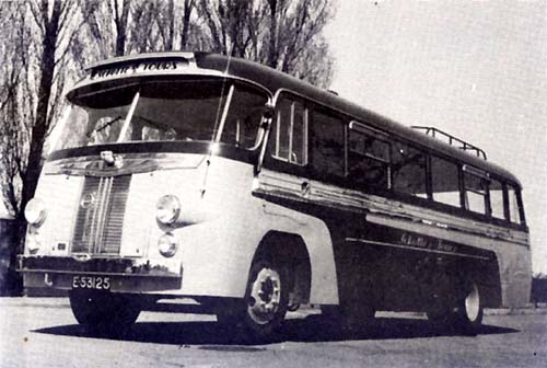 1949 Volvo bus met Hainje karrosserie, nr.25