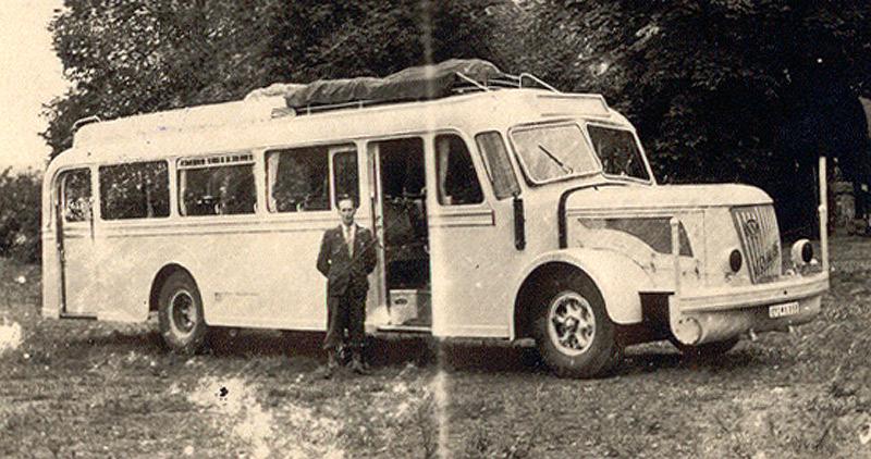 1949 VOMAG mit Holzvergaser