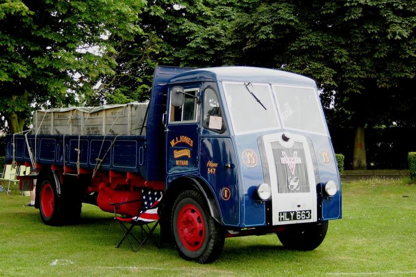 1949 Vulcan Truck mfrd 4195 cc