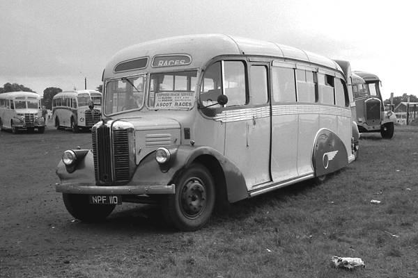 1949 Whitson C29F bodied Austin CXB