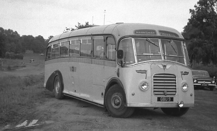1950 A.E.C. 9621A Regal III with a Whitson FC33F body gbu9
