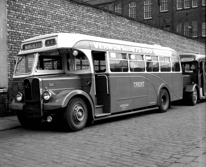 1950 AEC Regal III with Crossley gearbox and Willowbrook DP33F body