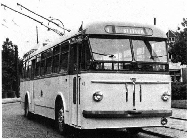 1950 B.U.T. Verheul Trolley