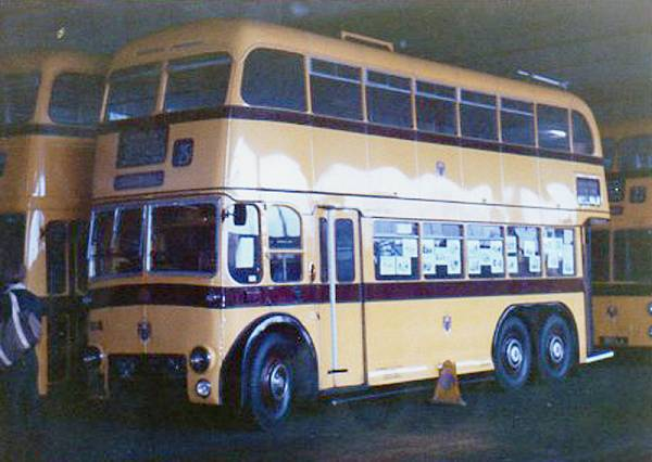 1950 BUT Trolleybus with Weymann body
