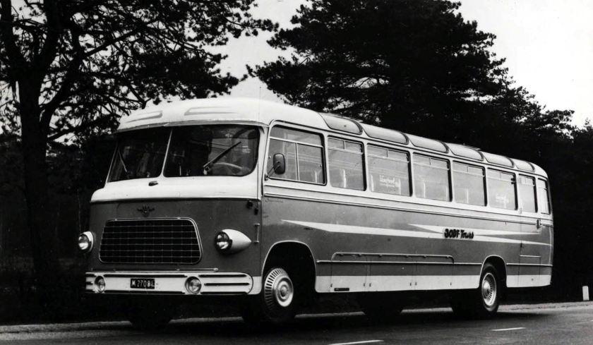 1950 DAF Autobus met van Hool opbouw
