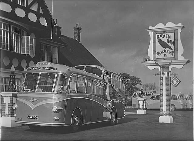 1950 JAW 334, Foden..Bus Salopia Whitson