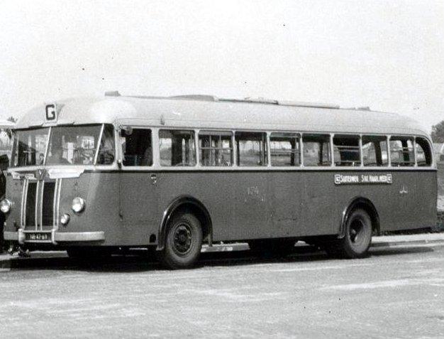 1950 Kromhout-Verheul TB-5T, Bus 174 NB-47-69