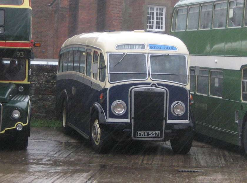 1950 Leyland PS2 with Whitson body fnv557a