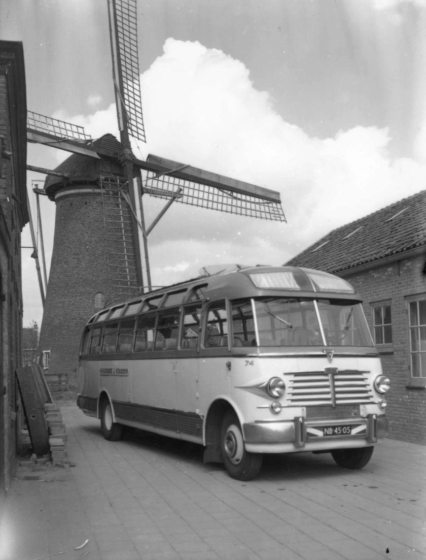 1950 M&K 74, Leyland Comet - Verheul, in dienst van 1950 tot 1958