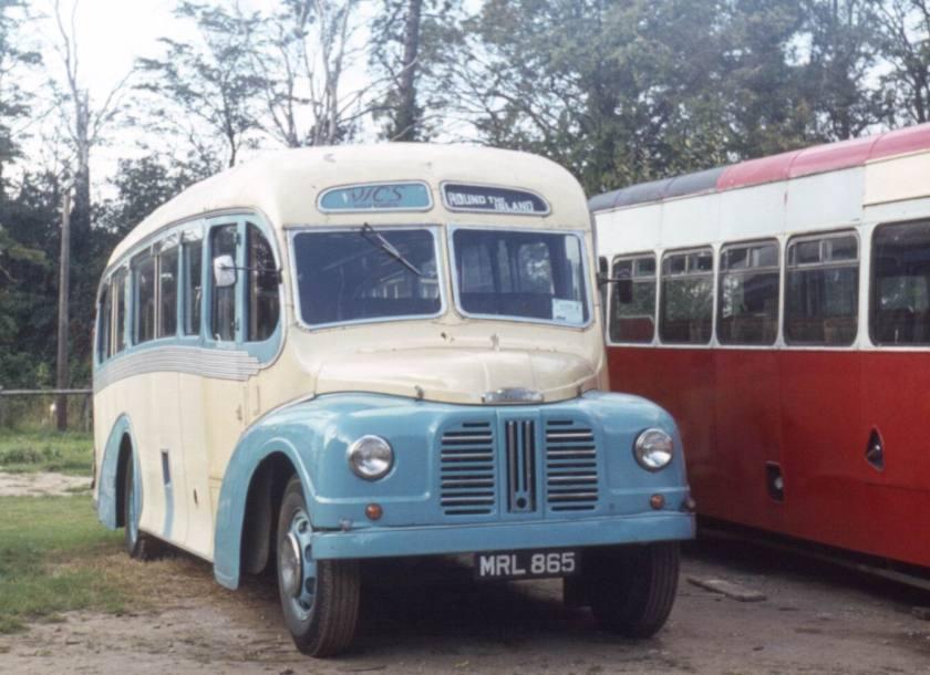 1950 MRL865. Austin K4SL-Whitson C29F.