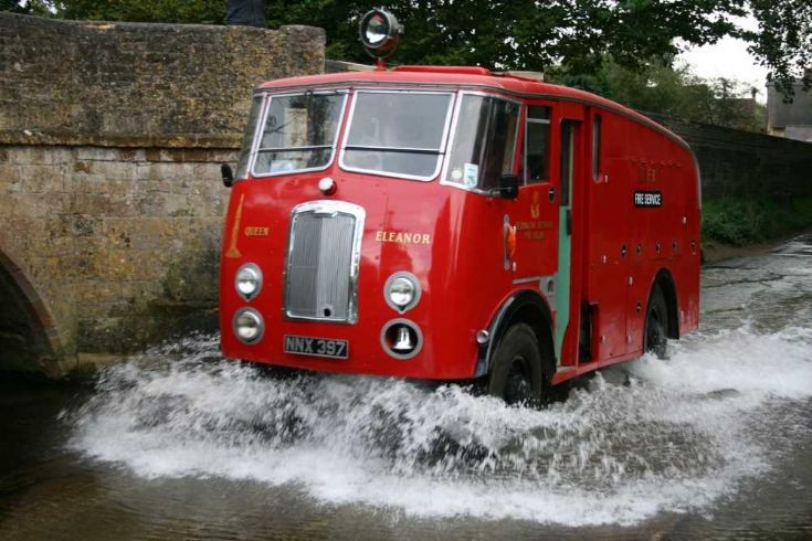 1950 Thornycroft Nubian Crash Tender