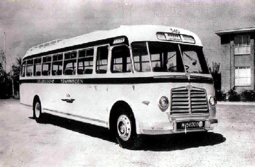 1951 AEC Regal MkIII AEC A217 carr Verheul GTW 340