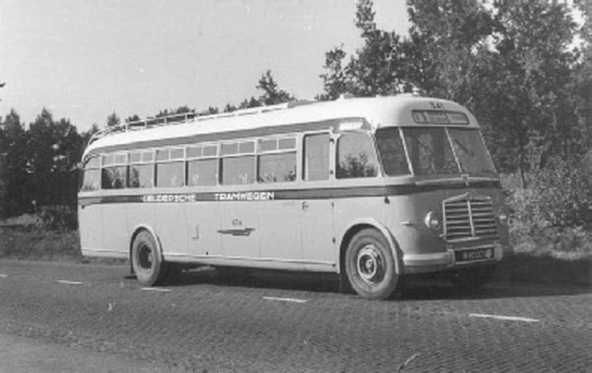 1951 AEC Regal MkIII AEC A217 carr Verheul GTW 341