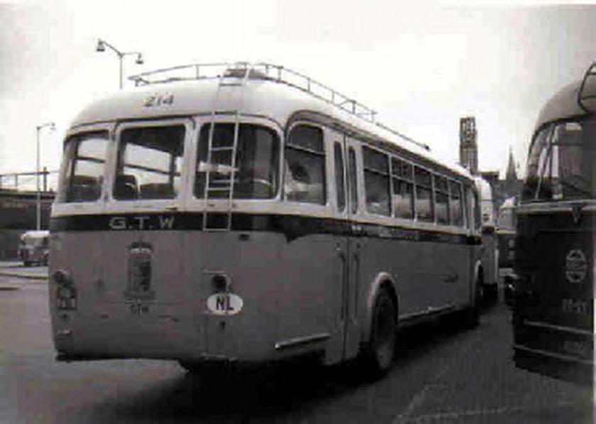 1951 AEC Regal MkIII AEC A217 carr Verheul GTW 344