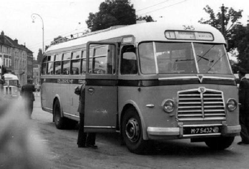 1951 AEC Regal MkIII AEC A217 carr Verheul GTW 345