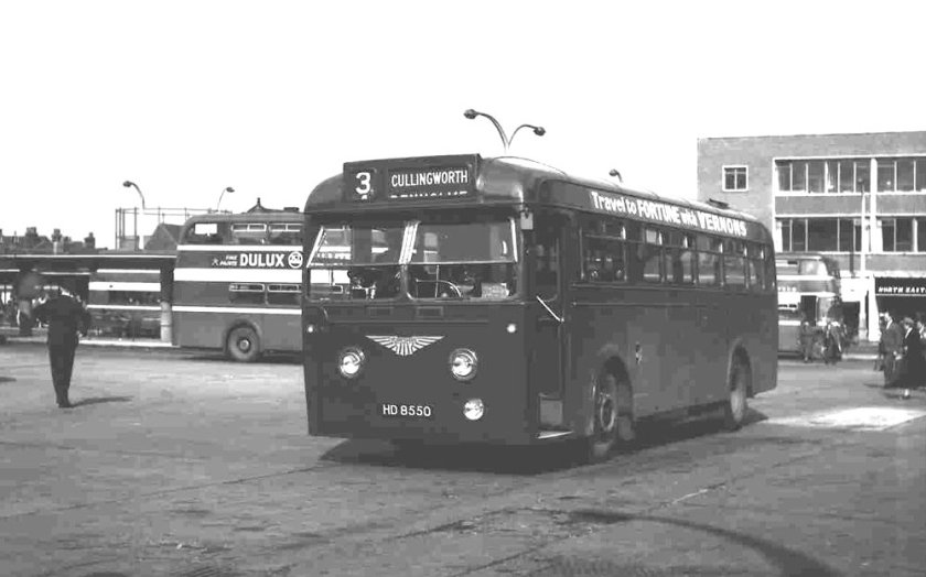 1951 Brush B44F bodied Leyland PSU1-13 Royal Tiger