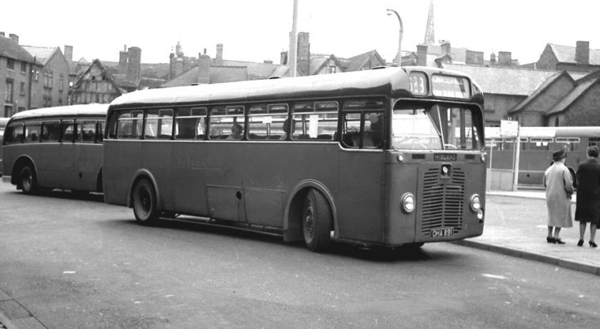 1951 Brush DP40F bodied BMMO S13