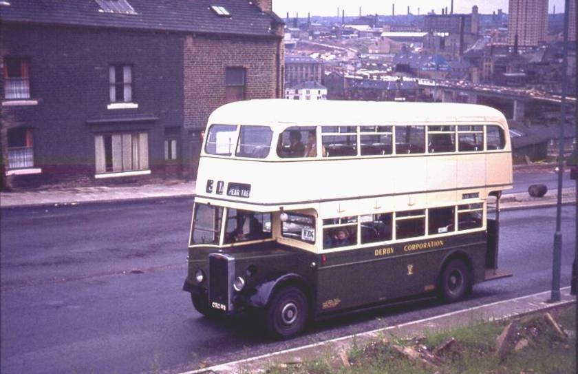 1951 Brush H30-26R bodied Crossley DD42-8A