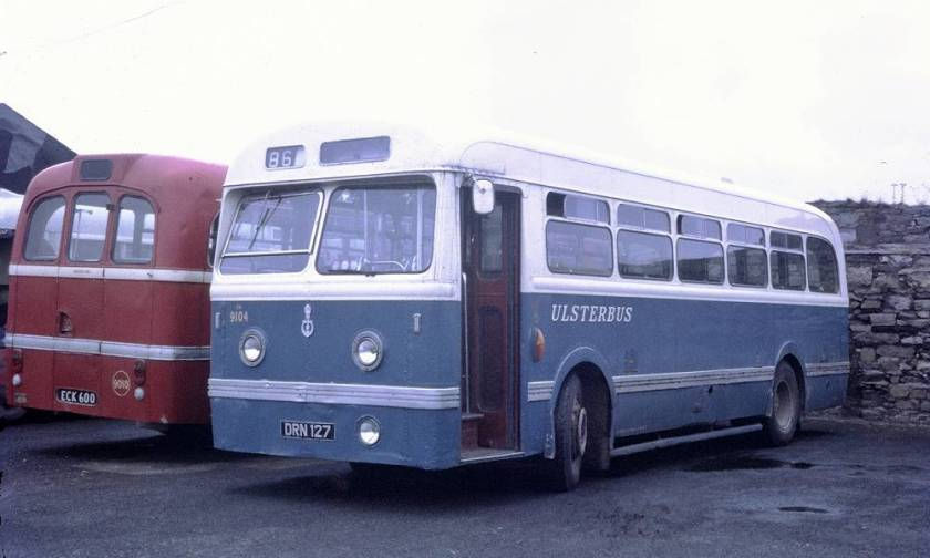 1951 Leyland Olympic HR44-Weymann B44F new Ribble