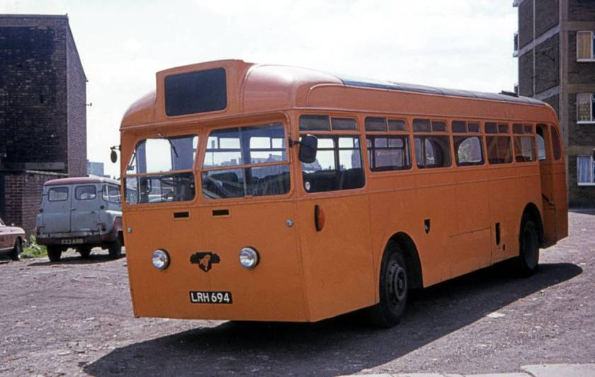 1951 Leyland Royal Tiger PSU1-13 with Brush B41R body