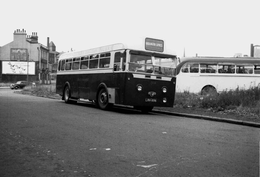 1951 Leyland Royal Tiger with Brush B44R body