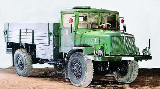 1951 Tatra-128, 4x4