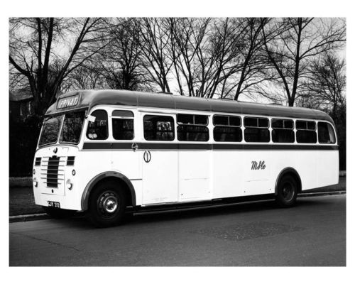 1951 Tilling Stevens Reading Mark II Bus Photo Poster zm2528