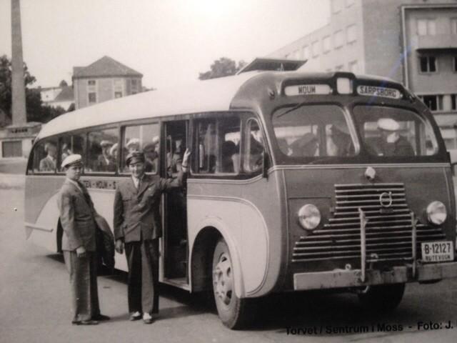 1951 VOLVO Østfold buss