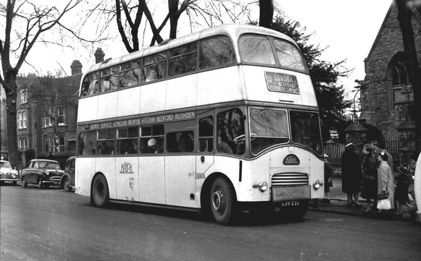 1951 Willowbrook FH27-26F bodied Leyland PS1-4 new in 1951 and named 'Oudenarde'