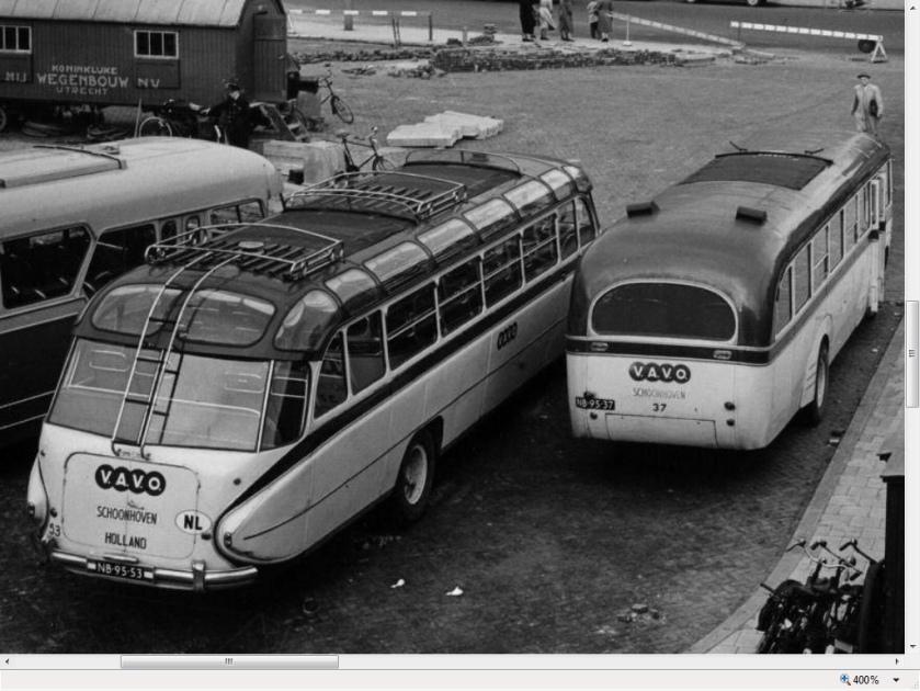 1951+1952 Volvo carrosserie Den Oudsten 1951, NB-95-37 Volvo carrosserie Hoogeveen [1952] NB-95-53