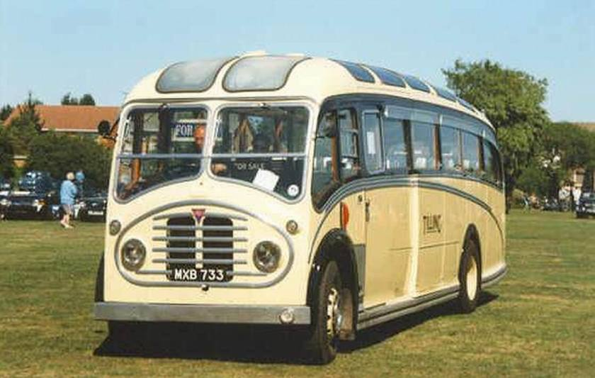 1952 AEC Regal MXB733 Tilling
