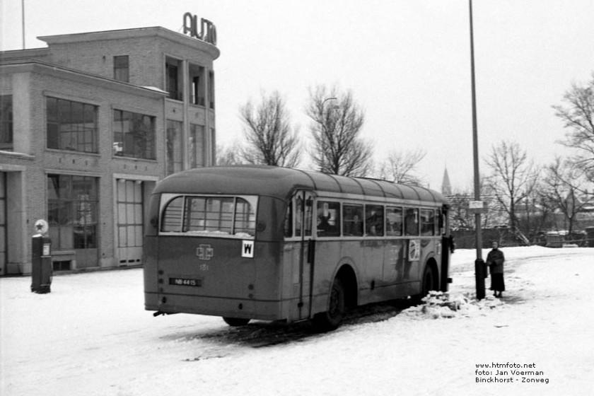 1952 Kromhout TB-5 - Werkspoor HTM 181 Binckhorst-2