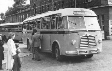 1952 Kromhout VB50B Kromhout 6HG carr Verheul GTW 149